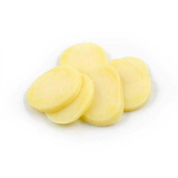 Pomme de terre lamelle 4 mm précuite